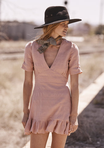 Stevie Play Dress Blush