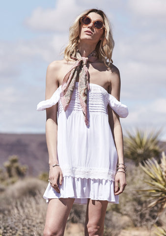 Desert Sun Play Dress White