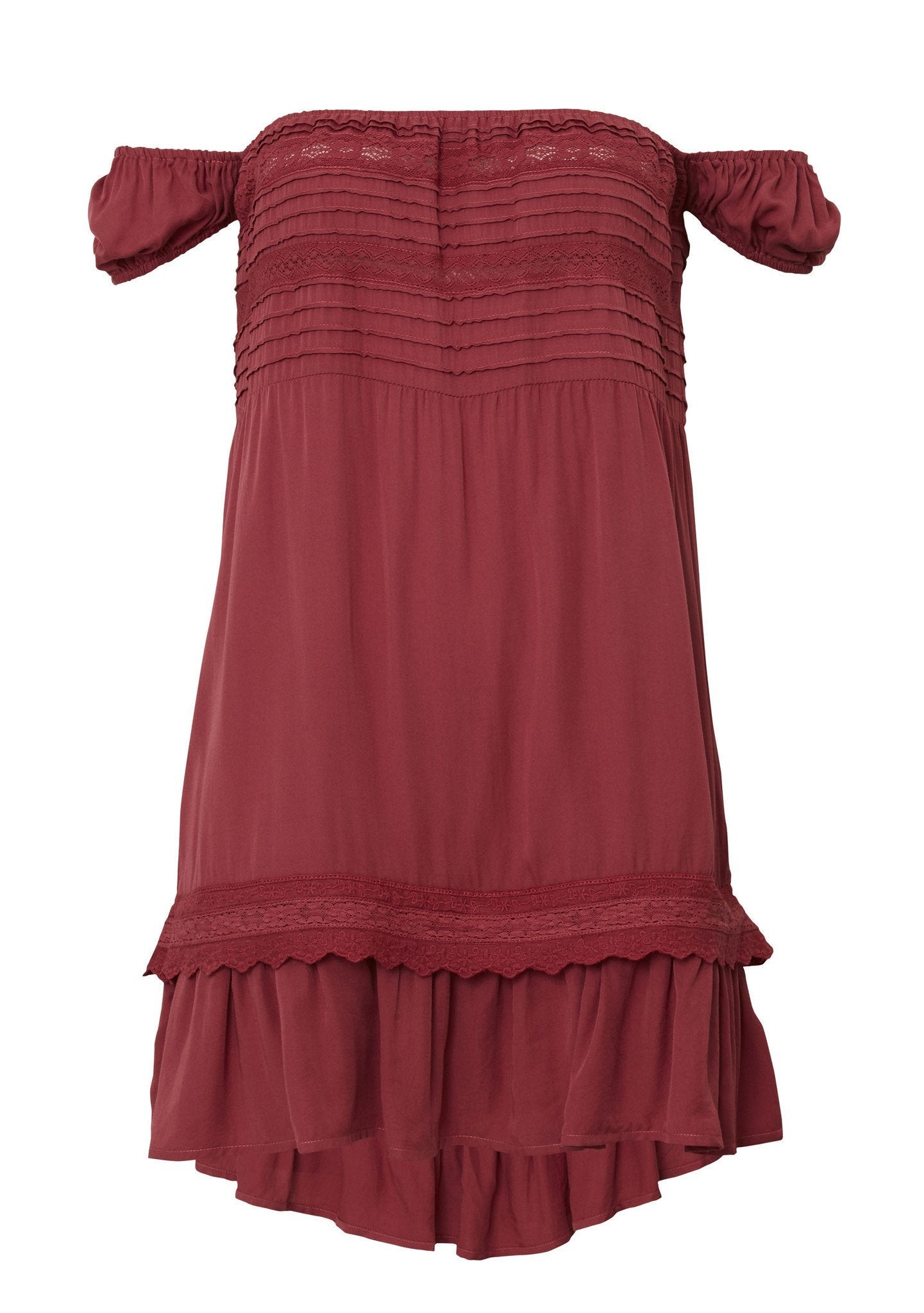 Desert Sun Play Dress Red Musk