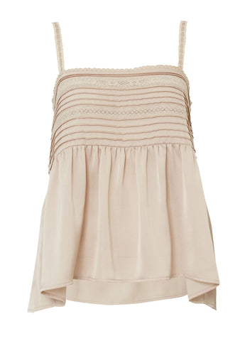 Luxe Cami Sand