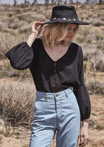 Gypsy Shirt Black