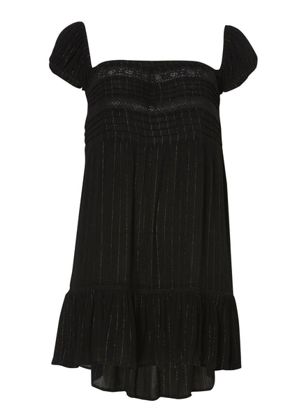Isabella Play Dress Black Lurex
