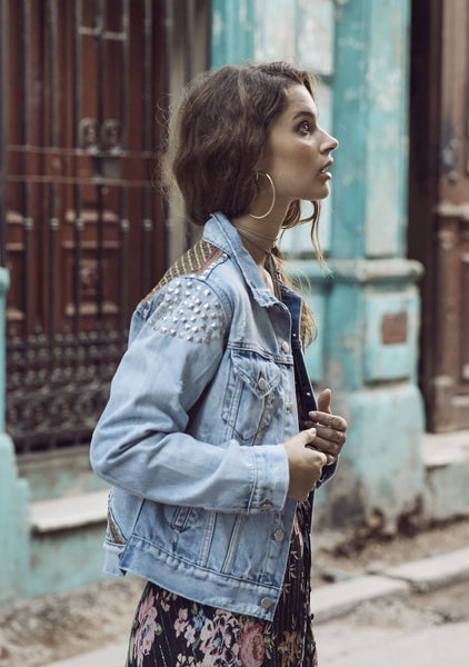 Stargazer Denim Jacket Denim