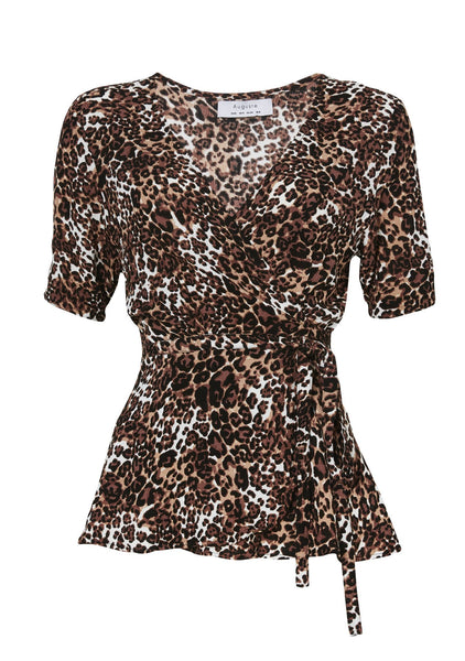 Little Lady Wrap Shirt Wild Cat