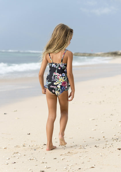 Little Miss One Piece Bambi Bloom Black