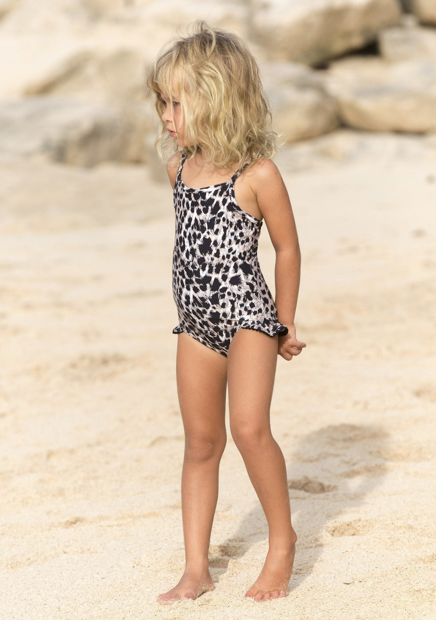 Little Miss One Piece Wild Leopard