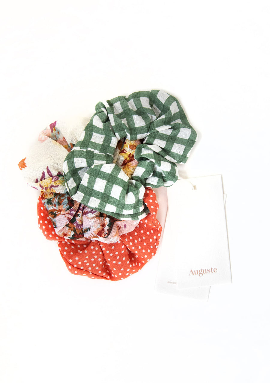 3-Pack Auguste Scrunchies - Cabarita - Auguste The Label