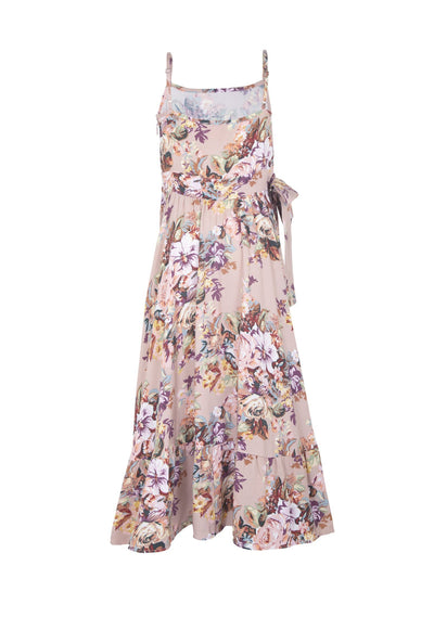 Bijoux Belle Wrap Dress Musk - Little Auguste - Auguste The Label