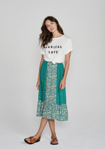 Radical Love Tee White - Auguste The Label