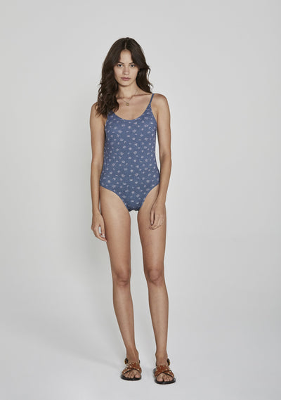 Jasmine Gidget One Piece Navy - Auguste The Label