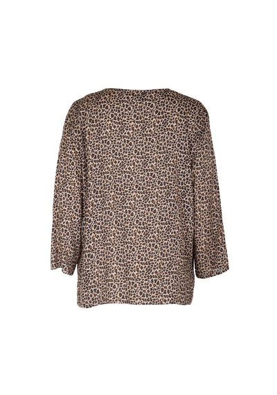 Cisco Alex Blouse Brown - Auguste The Label
