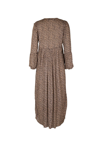 Cisco Smock Day Dress Brown - Auguste The Label