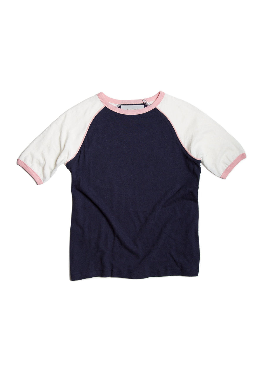 Charlie Ringer Tee Navy - Auguste The Label