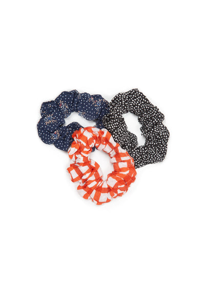 3-Pack Little Auguste Scrunchies Rose - Little Auguste - Auguste The Label