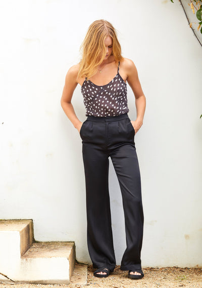 Midnight Luxe Pant Black - Auguste The Label