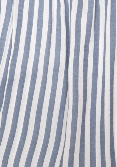 Nautica Poolside Skirt Blue Stripe - Auguste The Label