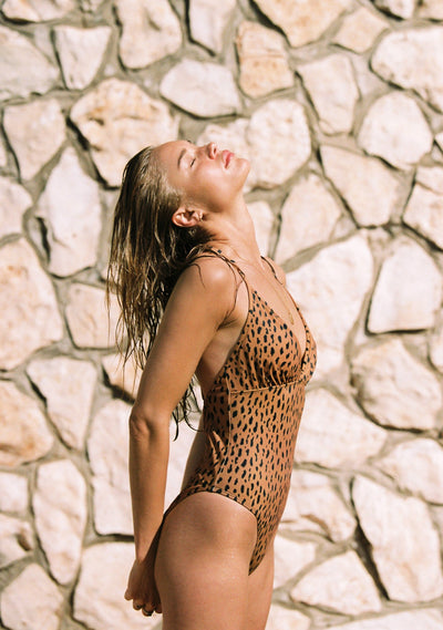 Safari Escape One Piece Tan - Auguste The Label