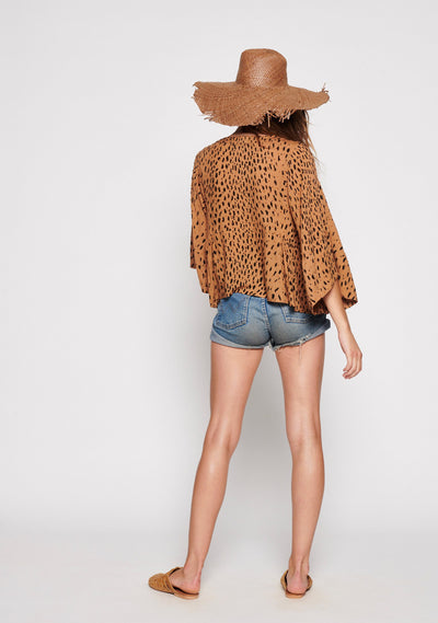 Safari Poolside Top Tan - Auguste The Label