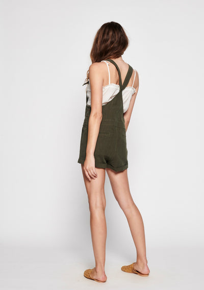 Sunset Overalls Khaki - Auguste The Label