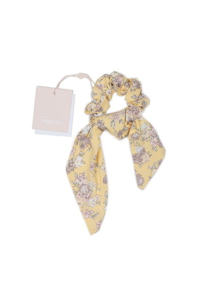 Olsen Bow Scrunchie Lemon - Little Auguste - Auguste The Label