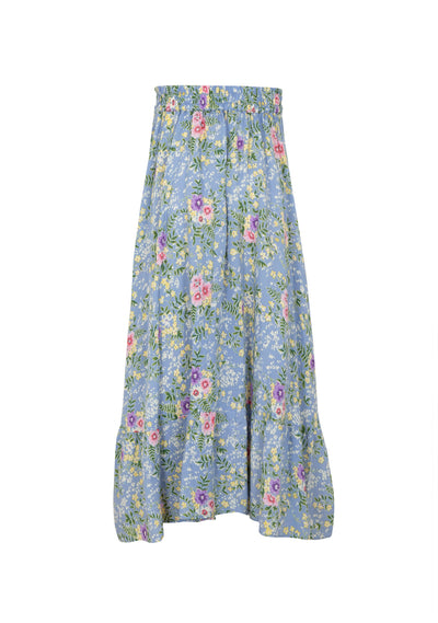 Ophelia Lola Midi Skirt Blue - Little Auguste - Auguste The Label