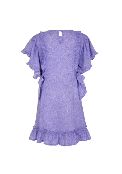 Diamond Amelia Angel Mini Dress Lilac - Little Auguste - Auguste The Label