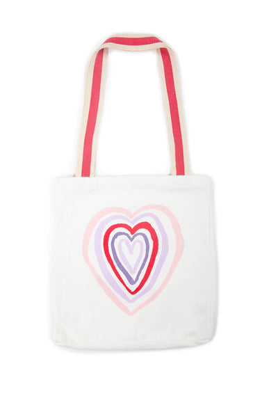 Heart Tote Bag Natural - Little Auguste - Auguste The Label