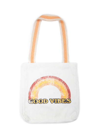 Good Vibes Tote Bag Natural - Little Auguste - Auguste The Label