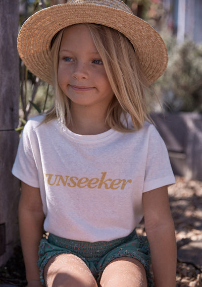 Sunseeker Tee White - Little Auguste - Auguste The Label