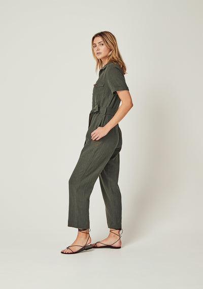 Patty Jumpsuit Khaki - Auguste The Label