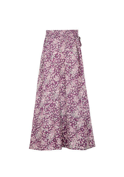 Gemima Lola Midi Skirt Purple - Little Auguste