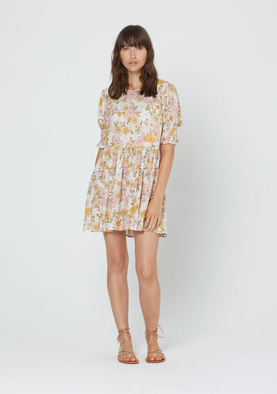 Delilah Gwen Mini Dress Blush - Auguste The Label