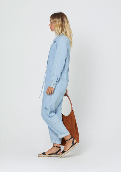 Vann Lois Boilersuit Chambray - Auguste The Label