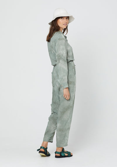 Cloudy Vail Boilersuit Khaki - Auguste The Label