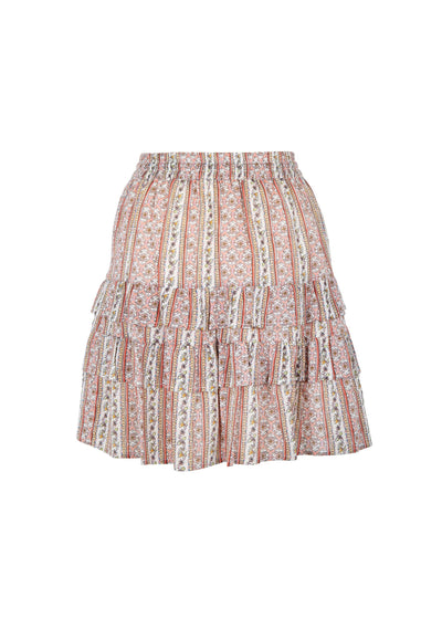 Zuri Ellie Mini Skirt Pink - Auguste The Label