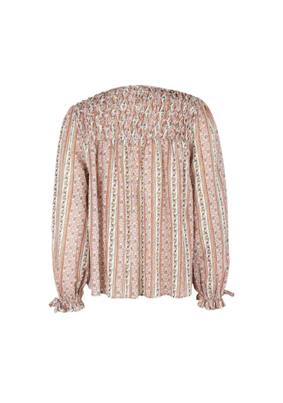 Zuri Thyme Blouse Pink - Auguste The Label
