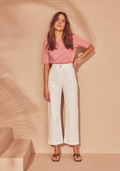 Tobie Pant White - Auguste The Label