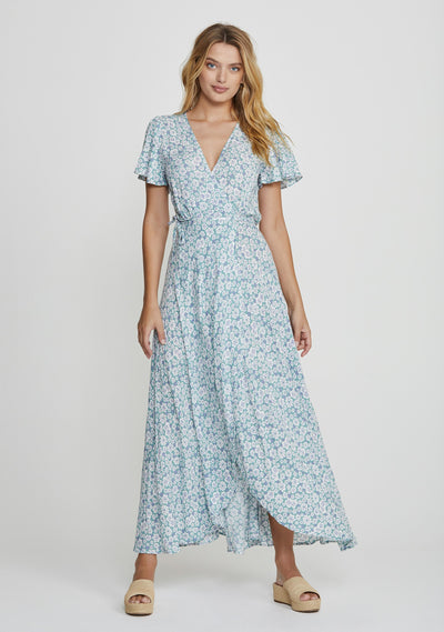 Mila Muse Maxi Dress Sage - Auguste The Label