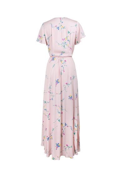 Dawn Spencer Muse Maxi Dress Blush - Auguste The Label