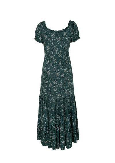Maeve Penn Maxi Dress Emerald - Auguste The Label