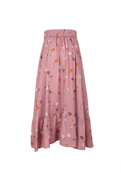 Buttercup Lola Midi Skirt Rose - Little Auguste - Auguste The Label