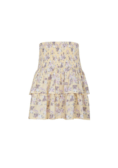 Olsen Amelia Mini Skirt Lemon - Little Auguste - Auguste The Label