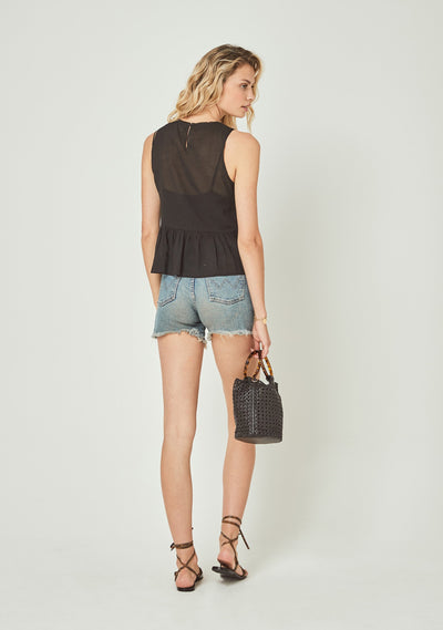 Margot Wren Camisole Black - Auguste The Label