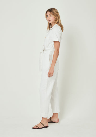 Patty Jumpsuit Off White - Auguste The Label