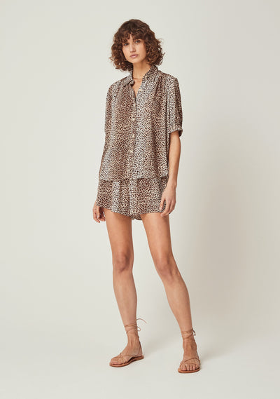 Nala Holm Shirt Tan - Auguste The Label