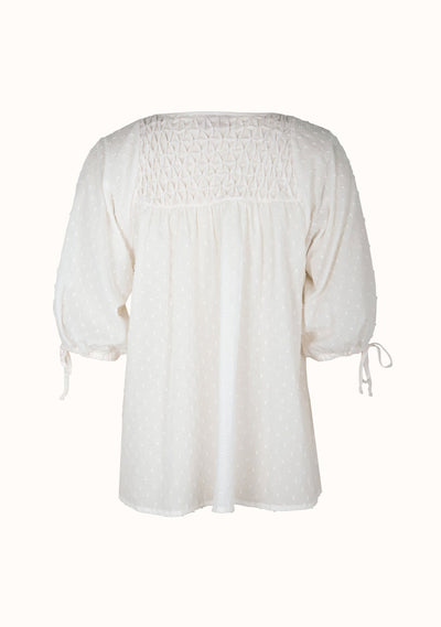 Scott Blouse Off White - Auguste The Label