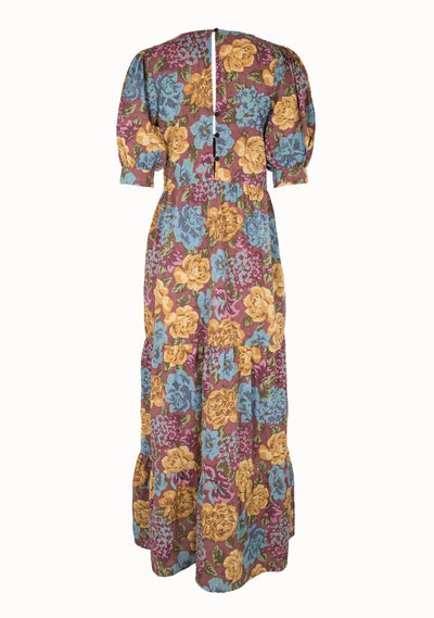 Selena Layla Maxi Dress Plum - Auguste The Label