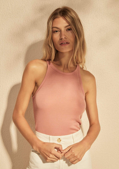 Alfie Tank Dusty Pink - Auguste The Label