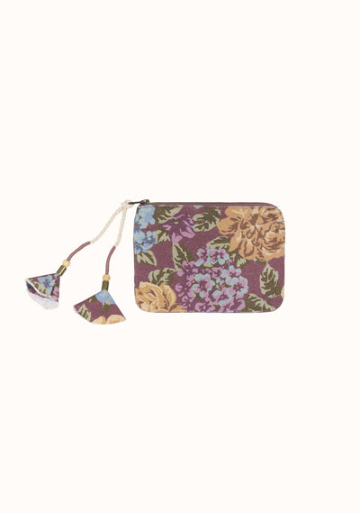 Selena Small Pouch Plum - Auguste The Label