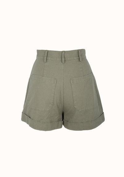 James Short Khaki - Auguste The Label